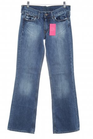 Pepe Jeans London Boot Cut Jeans stahlblau meliert Casual-Look