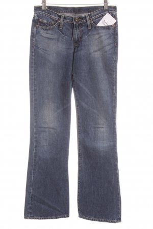 Pepe Jeans London Boot Cut Jeans weiß-stahlblau meliert Casual-Look