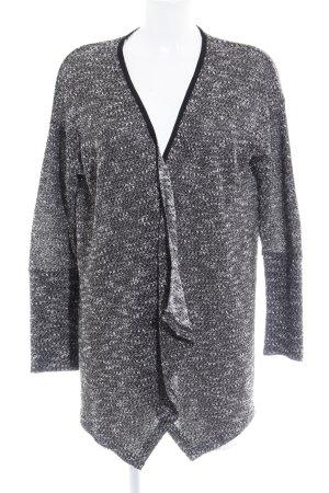 Pepe Jeans London Cardigan schwarz-weiß Glitzer-Optik
