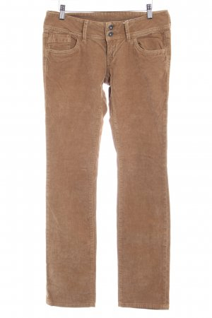 Pepe Jeans London Pantalón de pana color bronce look casual