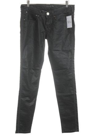 "Pepe Jeans London Five-Pocket-Hose ""seventy three"" schwarz"