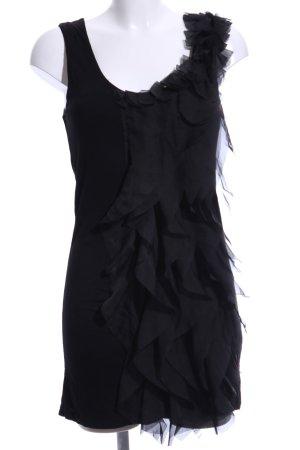 Pepe Jeans London Fringed Dress black elegant