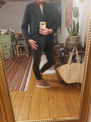 Pepe Jeans London Giacca di lana blu scuro