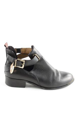 Pepe Jeans London Halbstiefel schwarz Business-Look