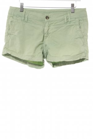 Pepe Jeans London Hot Pants hellgrün sportlicher Stil