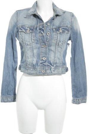 Pepe Jeans London Jeansjacke himmelblau Casual-Look