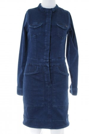 Pepe Jeans London Jeanskleid blau Casual-Look