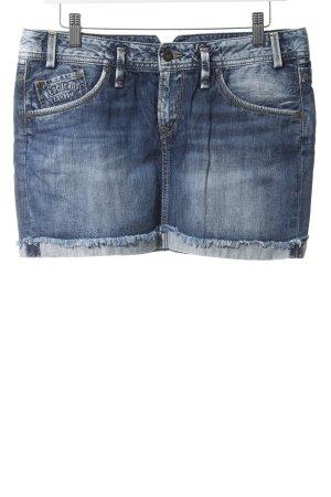 Pepe Jeans London Jeansrock blau Casual-Look