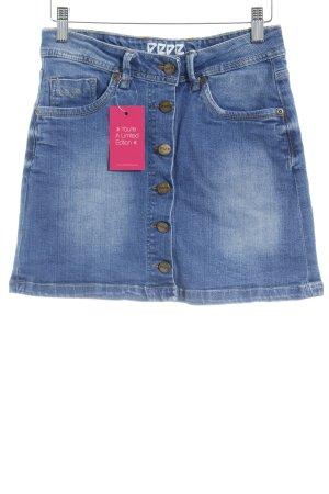 Pepe Jeans London Jeansrock kornblumenblau Casual-Look