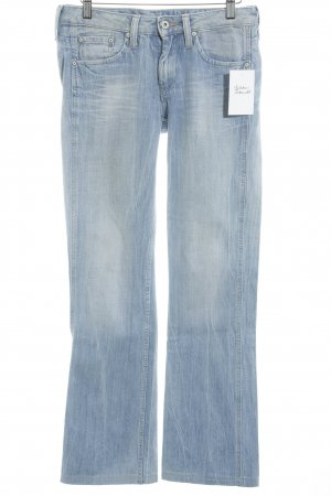 Pepe Jeans London Jeansschlaghose himmelblau Casual-Look