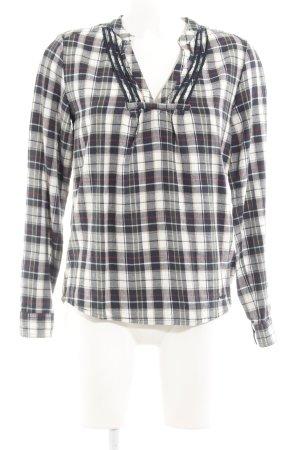 Pepe Jeans London Geruite blouse geruite print casual uitstraling