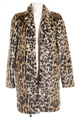 Pepe Jeans London Veste en fausse fourrure motif léopard élégant