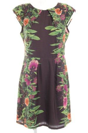 Pepe Jeans London Kurzarmkleid Blumenmuster Elegant