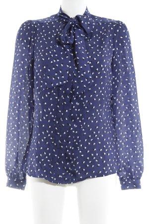 Pepe Jeans London Langarm-Bluse Herzmuster extravaganter Stil