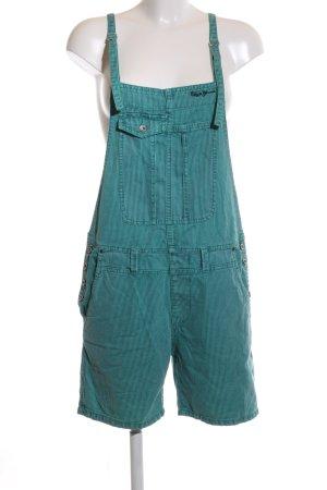 Pepe Jeans London Latzhose türkis Casual-Look