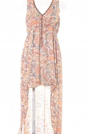 Pepe Jeans London Maxikleid Batikmuster Casual-Look