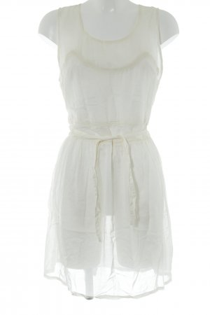 Pepe Jeans London Mini Dress cream hippie style