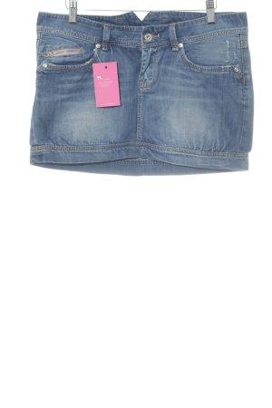 Pepe Jeans London Minirock stahlblau-blassblau Casual-Look