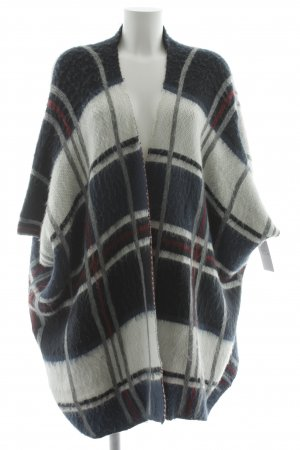 Pepe Jeans London Poncho Karomuster Casual-Look