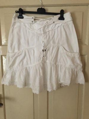 Pepe Jeans London Falda midi blanco