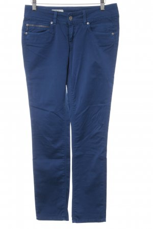 Pepe Jeans London Röhrenhose blau Casual-Look