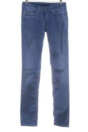 Pepe Jeans London Röhrenhose stahlblau schlichter Stil