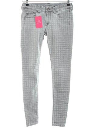 Pepe Jeans London Skinny Jeans hellgrau Allover-Druck Casual-Look
