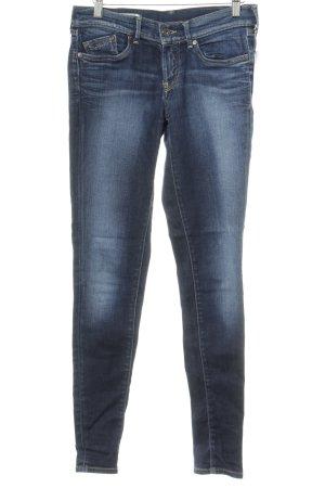Pepe Jeans London Skinny Jeans blau Street-Fashion-Look