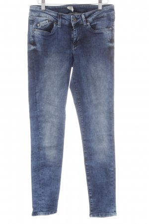 Pepe Jeans London Skinny Jeans dunkelblau Washed-Optik