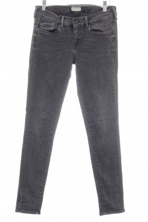 Pepe Jeans London Skinny Jeans dunkelgrau Casual-Look