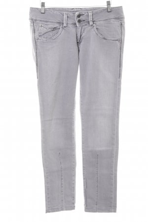Pepe Jeans London Skinny Jeans hellgrau Casual-Look