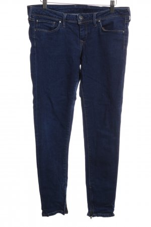 Pepe Jeans London Slim jeans blauw casual uitstraling