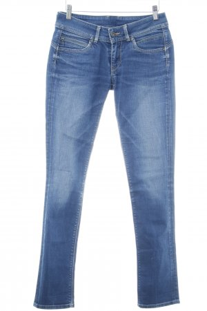Pepe Jeans London Slim Jeans blau Washed-Optik