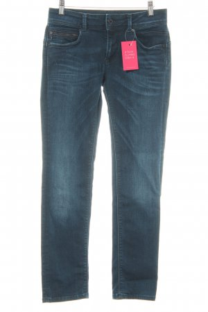 Pepe Jeans London Slim Jeans dunkelblau meliert Casual-Look