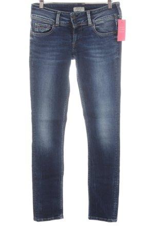 Pepe Jeans London Slim Jeans dunkelblau Urban-Look