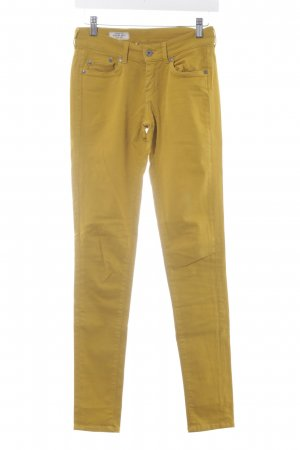 Pepe Jeans London Slim Jeans dunkelgelb Jeans-Optik