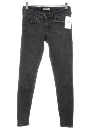Pepe Jeans London Slim Jeans dunkelgrau Casual-Look
