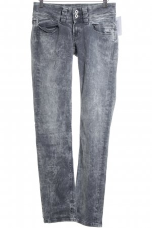 Pepe Jeans London Slim Jeans grau Street-Fashion-Look