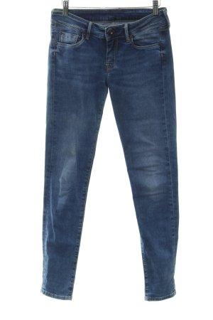 Pepe Jeans London Slim Jeans stahlblau-dunkelblau Casual-Look