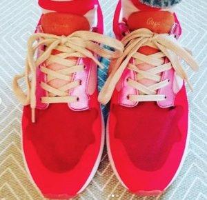 Pepe Jeans London Sneaker Sneakers rot pink metallic gold 41