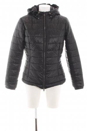 Pepe Jeans London Steppjacke schwarz Steppmuster Business-Look