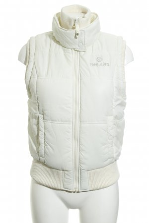 Pepe Jeans London Quilted Gilet natural white casual look