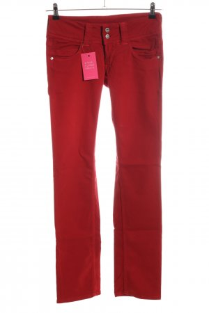 Pepe Jeans London Stoffhose rot Casual-Look