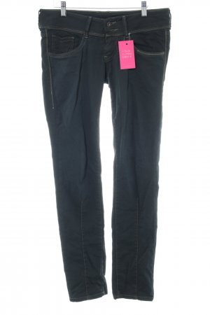 Pepe Jeans London Stoffhose blau Casual-Look