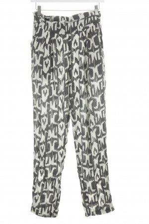 Pepe Jeans London Jersey Pants oatmeal-anthracite allover print casual look