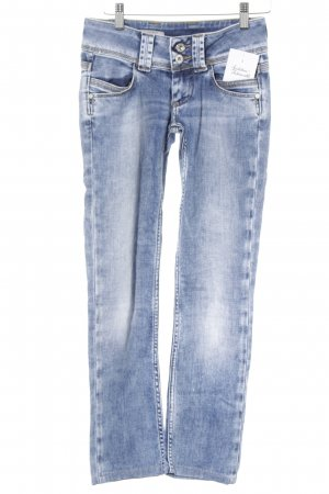 Pepe Jeans London Straight-Leg Jeans blau Casual-Look