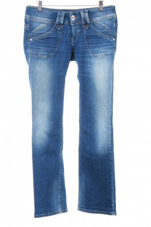 Pepe Jeans London Straight-Leg Jeans blau Jeans-Optik