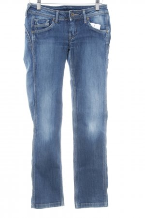 Pepe Jeans London Straight-Leg Jeans dunkelblau Casual-Look