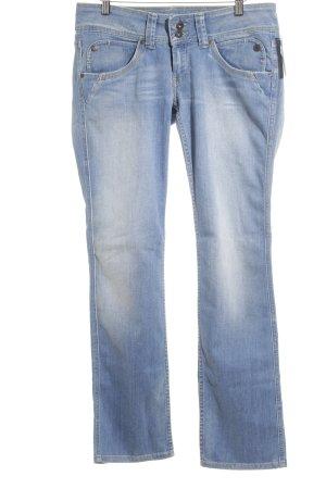Pepe Jeans London Straight-Leg Jeans himmelblau Casual-Look