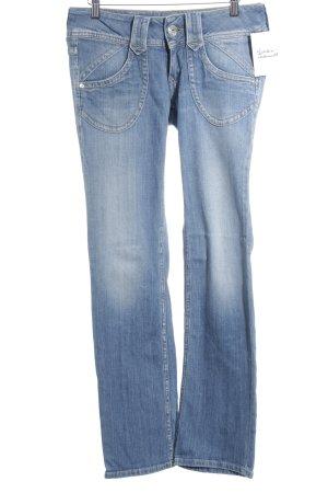 Pepe Jeans London Straight-Leg Jeans kornblumenblau Jeans-Optik